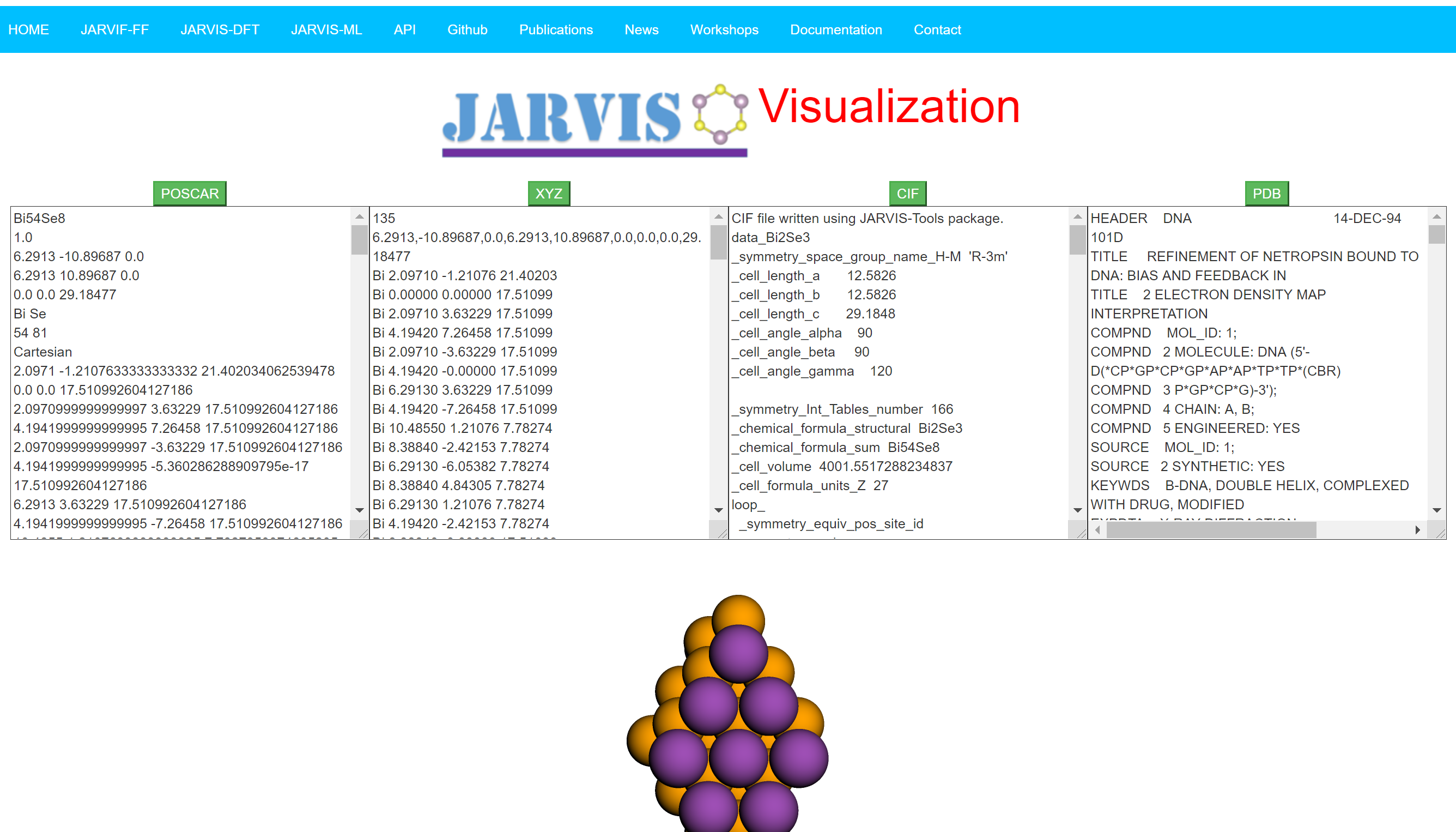 JARVIS-Visualization